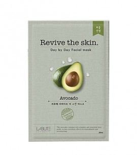 Labute Маска-салфетка с авокадо Revive the skin Avocado Mask