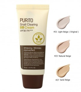 Purito BB крем с муцином улитки 23 Snail Clearing BB Cream SPF38 PA+++
