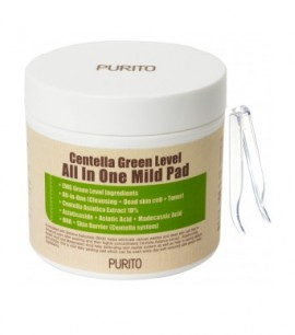 Purito Пилинг-пэды с центеллой Centella Green Level All In One Mild Pad