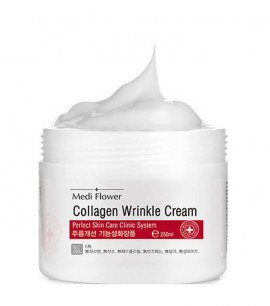 Medi Flower Крем с коллагеном Collagen Refining Wrinkle Cream