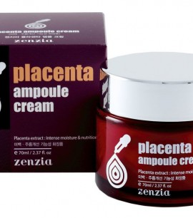 Zenzia Крем с экстрактом плаценты Placenta Ampoule Cream