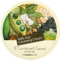 The Face Shop Очищающий крем 5 злаков 5Combiend Cereal HERB DAY 365 CLEANSING CREAM