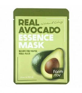 FarmStay Маска-салфетка с авокадо Real Avocado Essence Mask