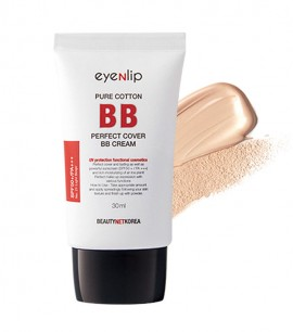 Eyenlip матирующий  ББ крем Pure Cotton Perfect Cover BB Cream 23 SPF50