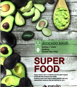 Eyenlip Маска-салфетка с экстрактом авокадо Super Food Avocado Mask