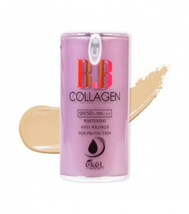 Ekel ВВ крем с коллагеном 21 Collagen BB Cream Pump