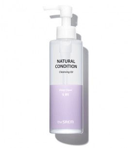 The Saem Гидрофильное масло Natural Condition Cleansing Oil - Deep Clean